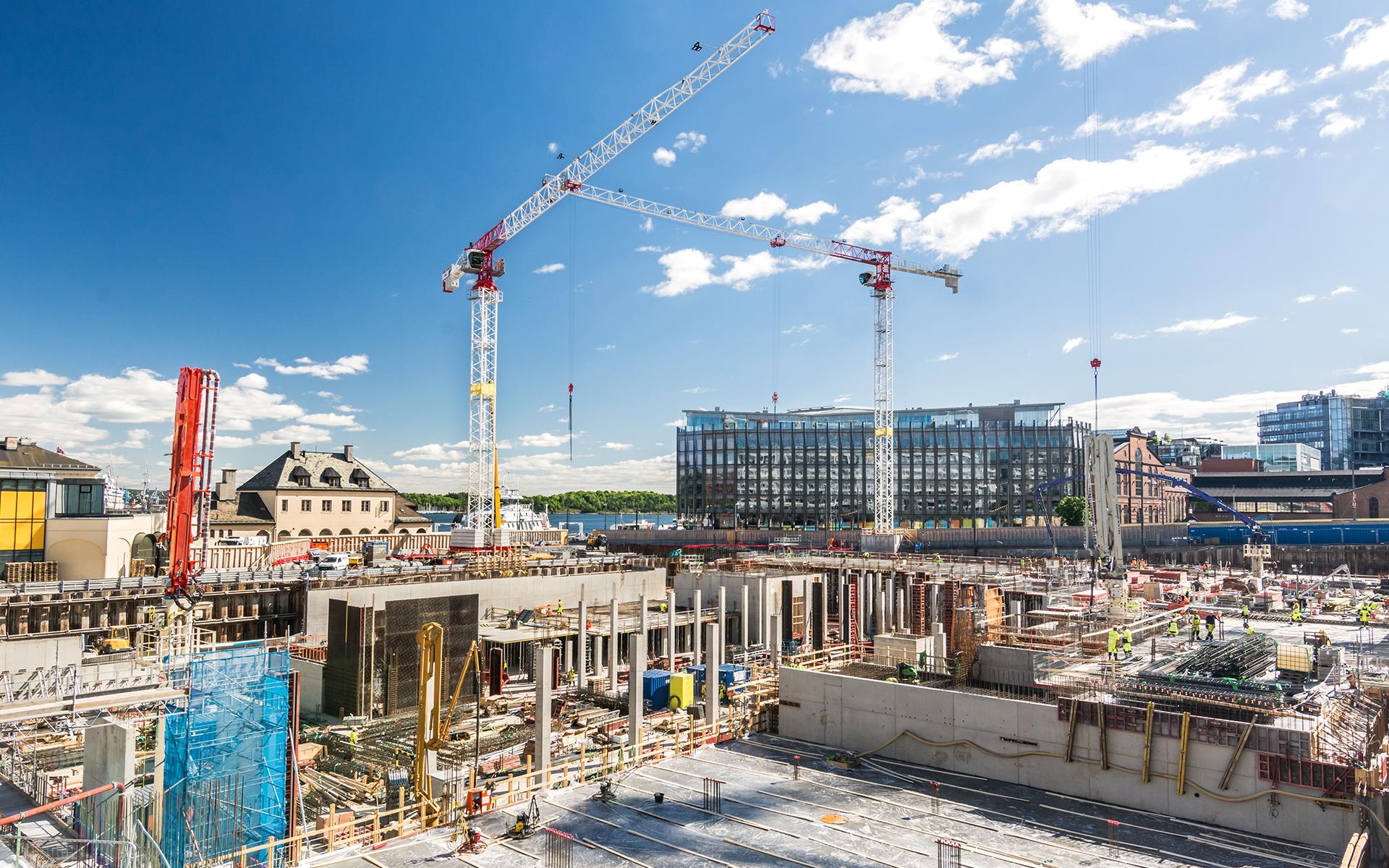 Baustellenlogistik Facility Deutschland